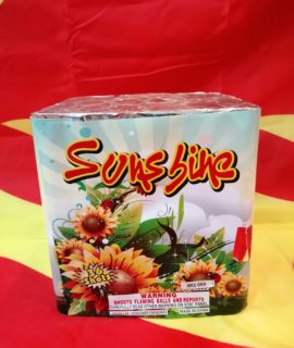 MQ009 36 SHOT SUNSHINE DISPLAY CAKE R599.99