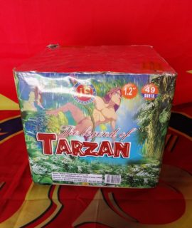 FFJCK49-12 49 SHOT THE LEGEND OF TARZAN DISPLAY CAKE R779.99